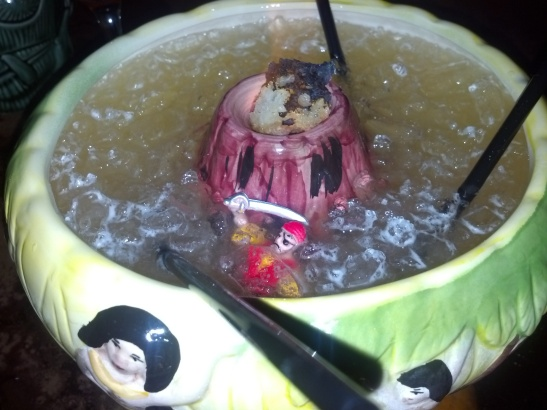 There is a pirate in my drink!