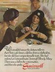 1978 Smirnoff Vodka ad Fortune Teller