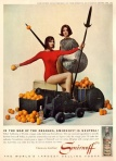 Vintage Smirnoff Ad War of the Oranges