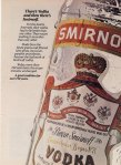Smirnoff Vodka 1985 Ad