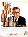 Woody Allen Vintage Smirnoff Ad