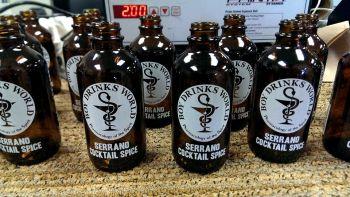 BDW Serrano Cocktail Spice Bottling